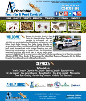 Affordable Termite & Pest Control - Killeen, Texas