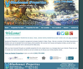 Bluebonnet Properties - Property Management - Waco, Texas