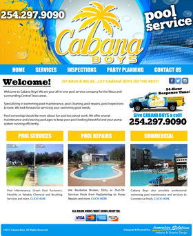 Cabana Boys Pool Services - Waco, Texas