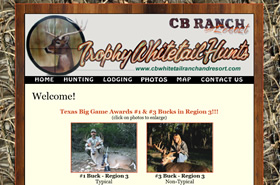 CB Whitetail Ranch & Resort - Valley Mills, Texas