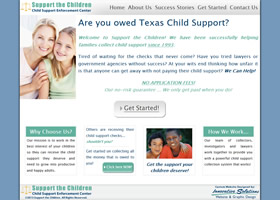 ChildSupportNow.com - Support the Children