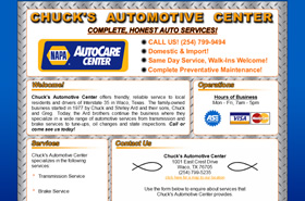 Chuck's Automotive Center | Waco, Texas