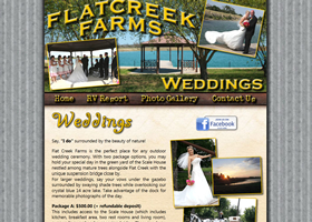 Flat Creek Farms Weddings - Waco, Texas