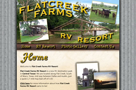 Flat Creek Farms RV Resort - Waco, Texas