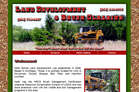 Land Development and Brush Clearing | Waco & Central Texas