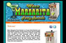 Waco Margarita Party Rentals | Waco, Texas