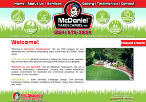 McDaniel Yardscaper - Waco & Clifton, Texas