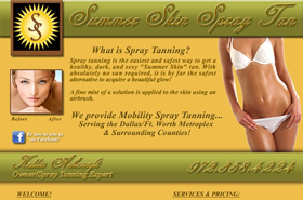 Summer Skin Spray Tan - Dallas, Texas