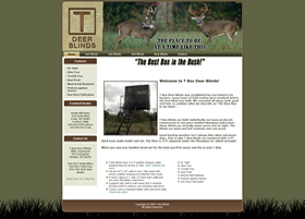 T-Box Deer Blinds