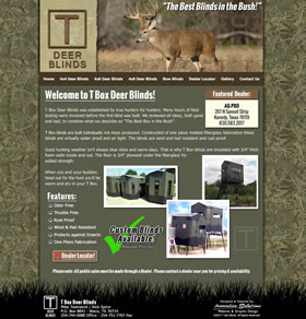 T Box Deer Blinds - Waco, Texas