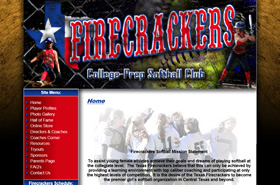 Texas Firecrackers Softball  | Collge-Prep Softball Club - Central Texas