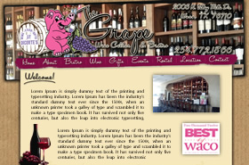 The Grape Wine Cellar & Bistro - Waco, Texas