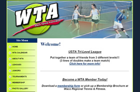 WTA | Waco Tennis Association