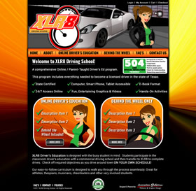 XLR8 Online Driving School